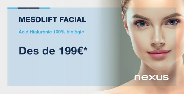Àcid hialurònic Mesolift facial