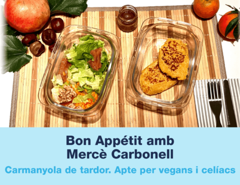 carmanyola vegana y apta per celíacs