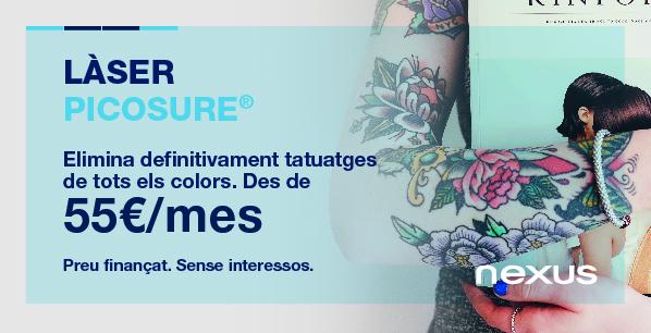 Promoció eliminació de tatuatges